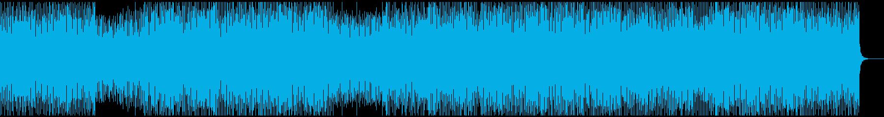 中性的、無機質、ミニマルテクノの再生済みの波形