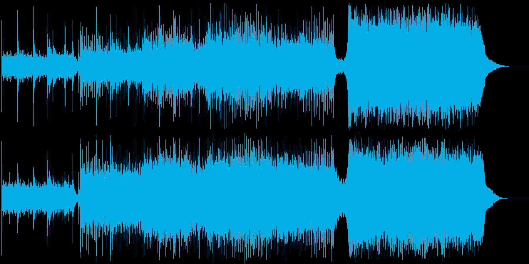 VP等に最適、爽快で軽快なギターチューンの再生済みの波形
