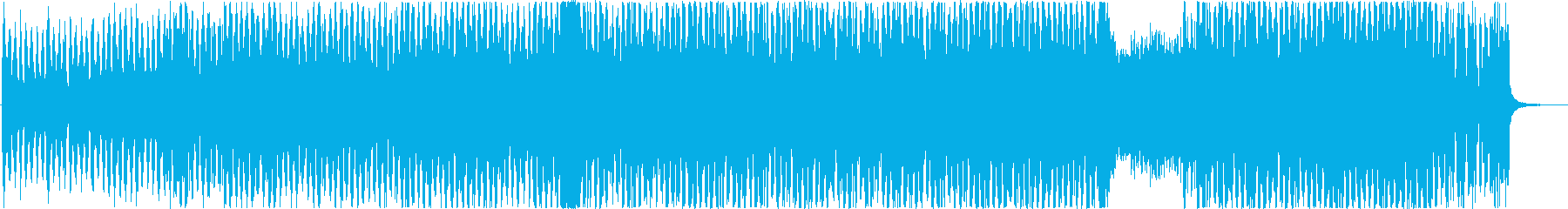 g線上のアリアのエレクトロアレンジです。の再生済みの波形