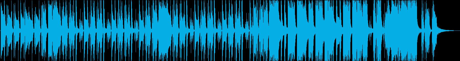 オケと小編成バンドのかわいいBGMの再生済みの波形