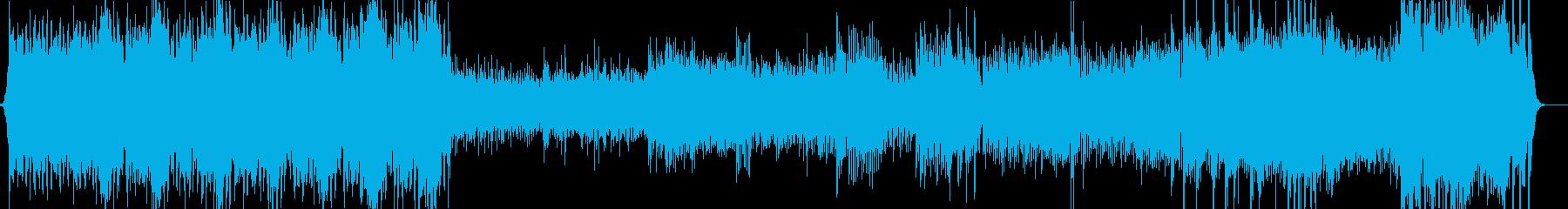 スキタイ組曲作品20より第二楽章の再生済みの波形