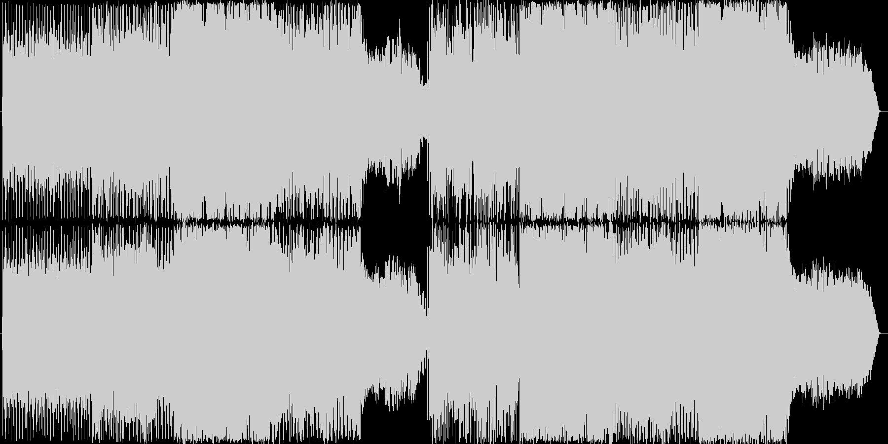 テクノです。速いです。24bit,48…の未再生の波形