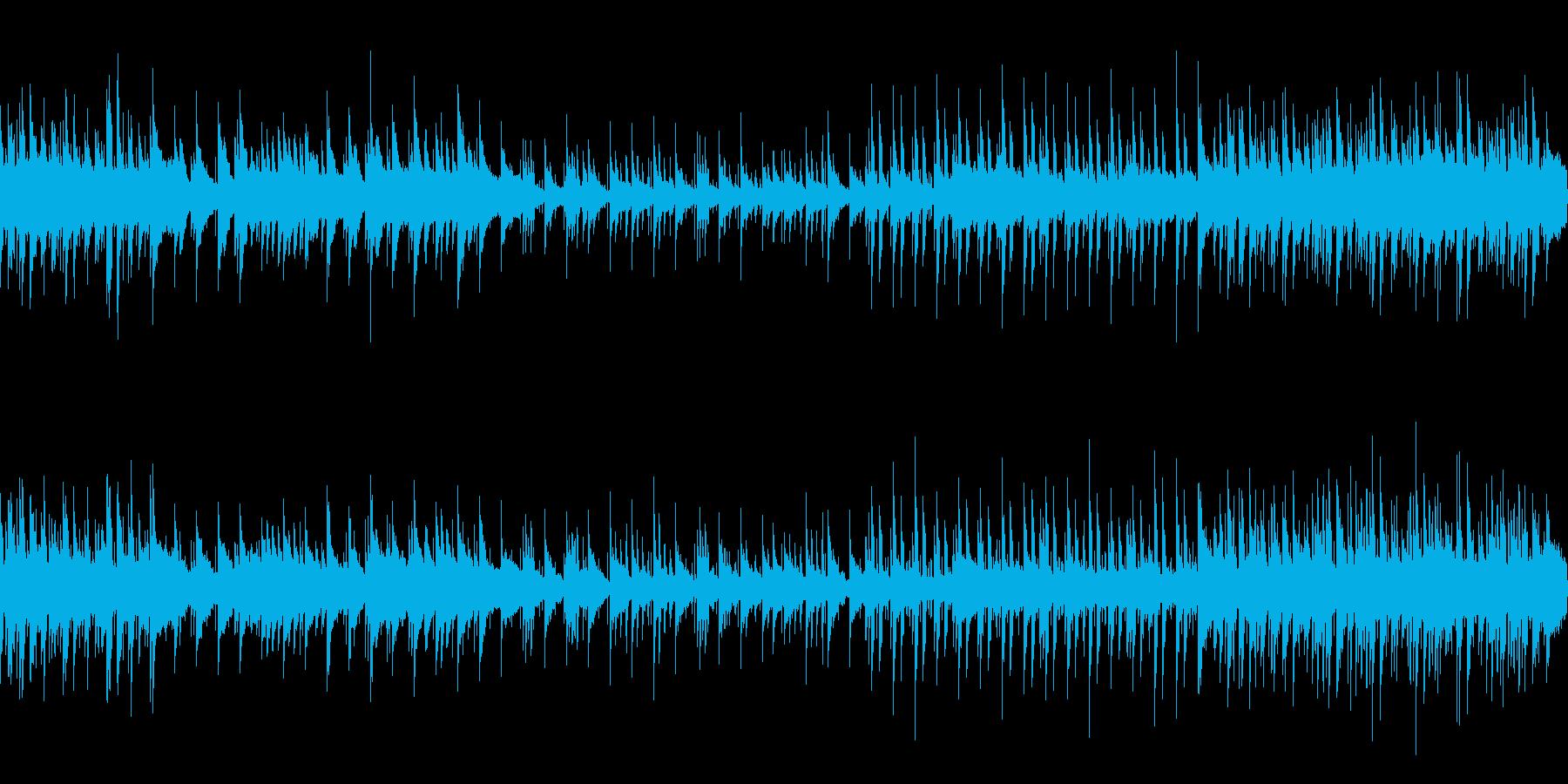 ピアノオーケストラループ音源リバーブな…の再生済みの波形
