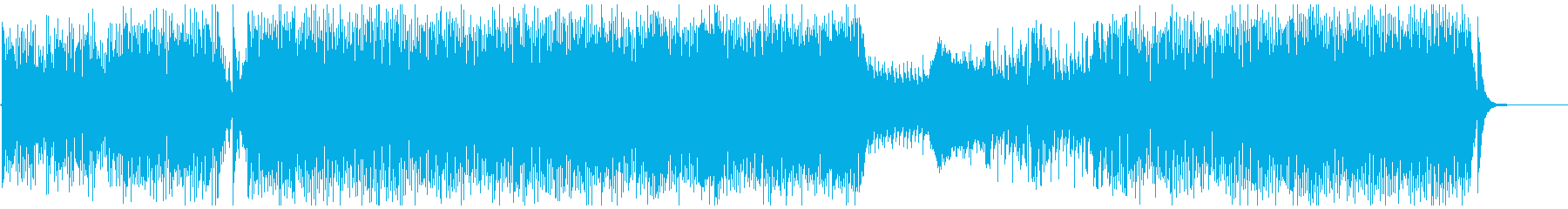 オーケストラでハッピーな曲の再生済みの波形