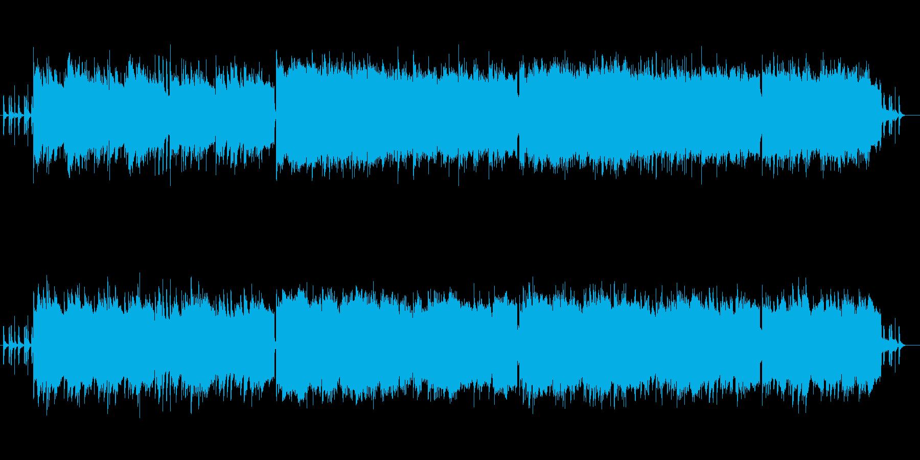 背中を押す前向きなピアノのバラード曲の再生済みの波形