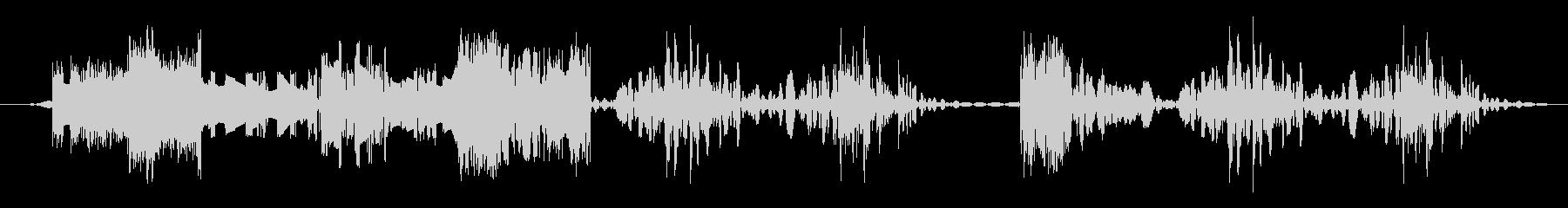 低ノイズカットトランジションの未再生の波形
