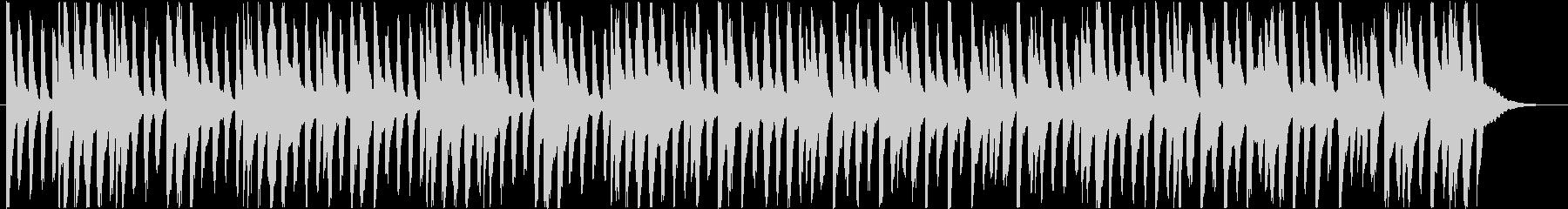楽しくコミカルなBGM(60秒ver)の未再生の波形