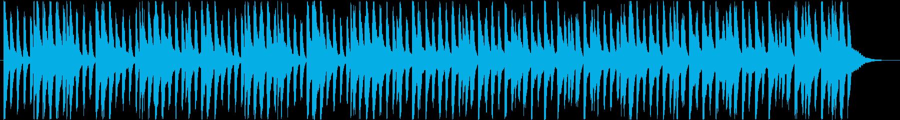 楽しくコミカルなBGM(60秒ver)の再生済みの波形