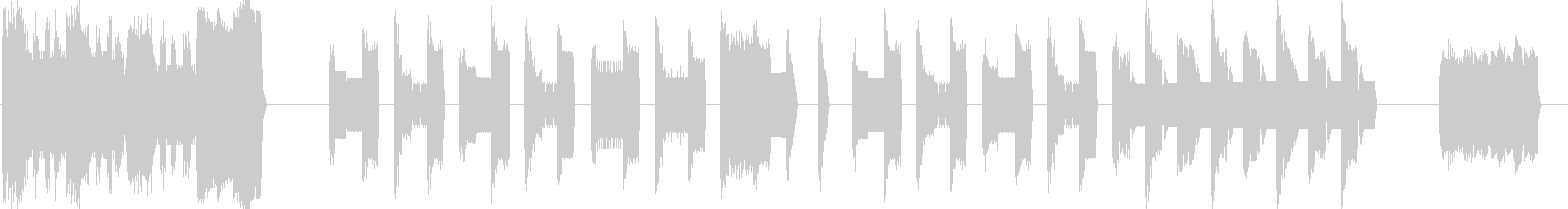 8ビットRPGのんの未再生の波形