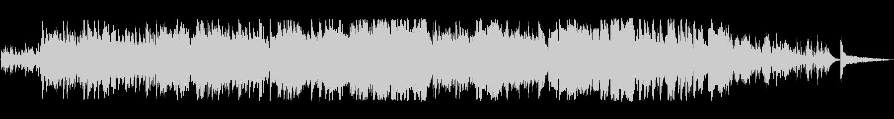 軽やかで澄んだ音色のピアノの旋律の未再生の波形