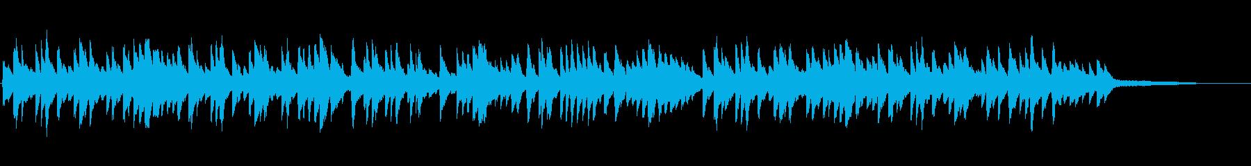 ほのぼの可愛らしい雰囲気の ピアノソロの再生済みの波形