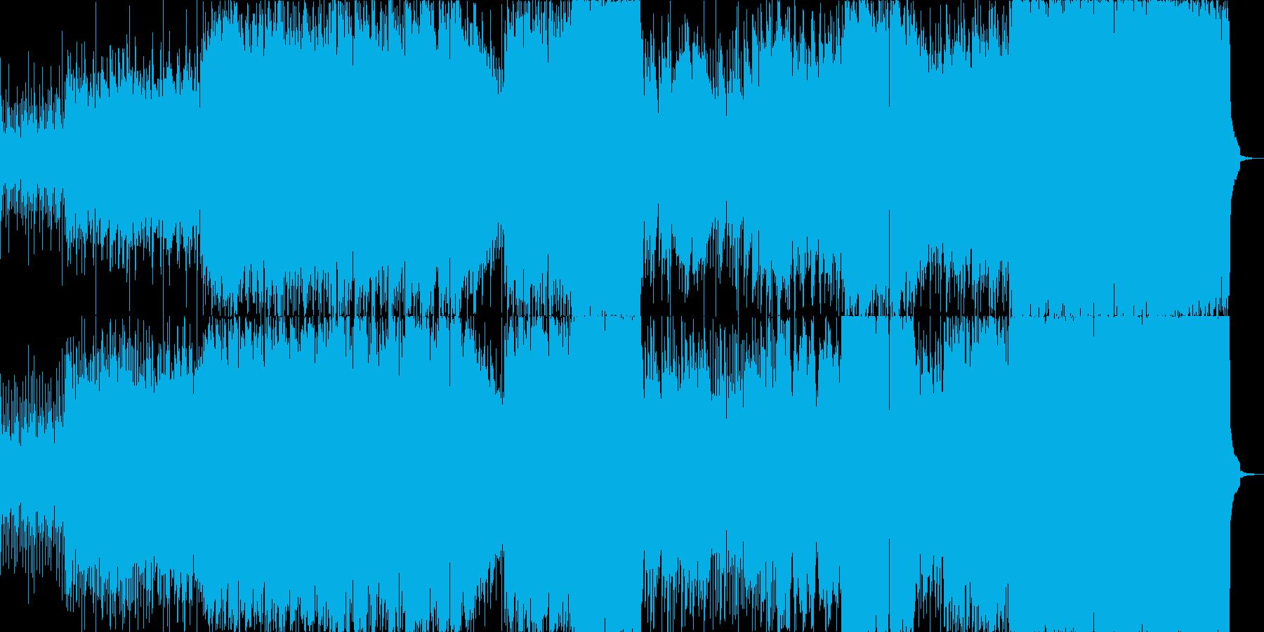 エンドロールに最適のドラマティックな曲!の再生済みの波形