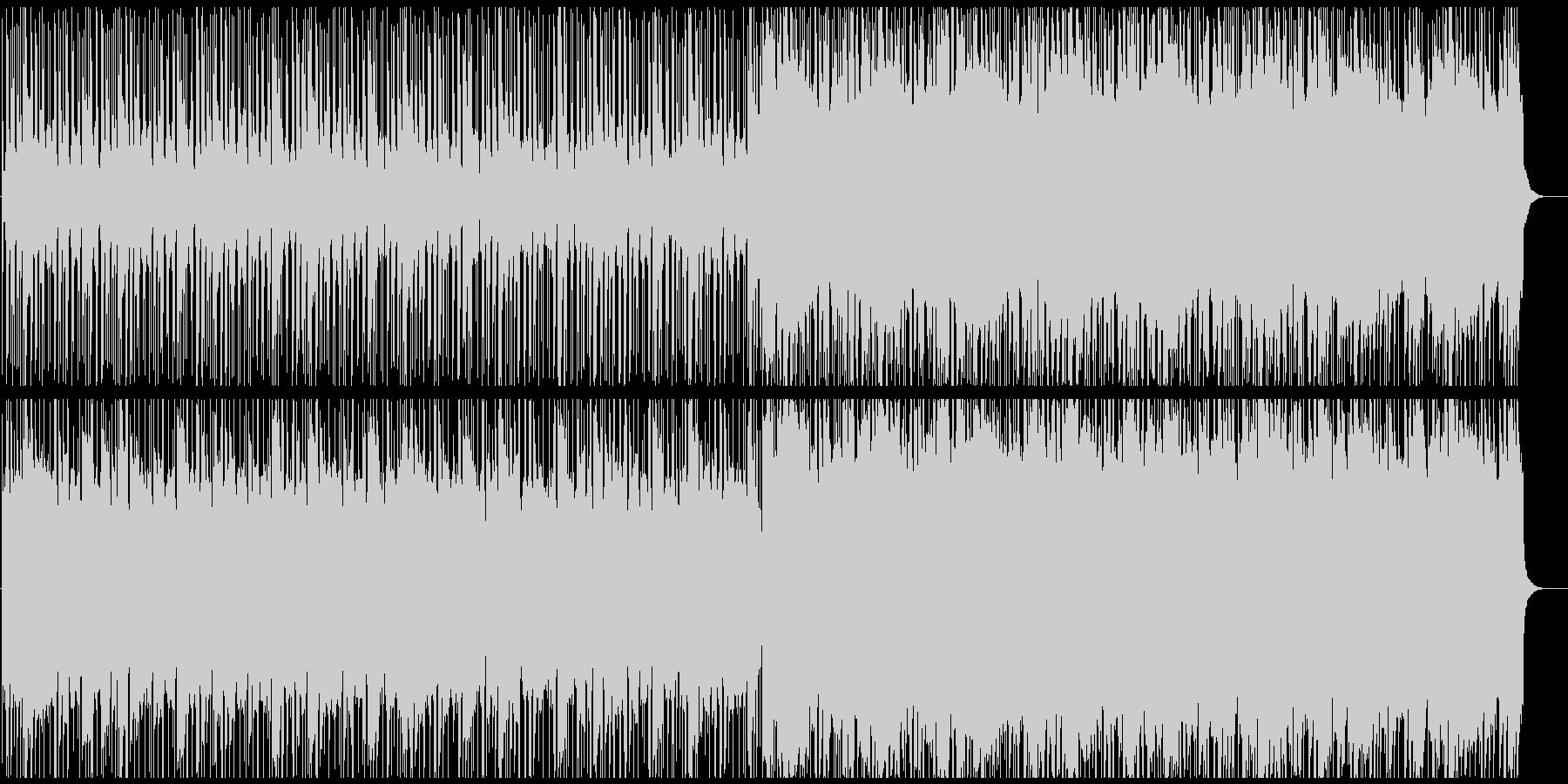 木琴メロディーのしっとりしたビート曲の未再生の波形