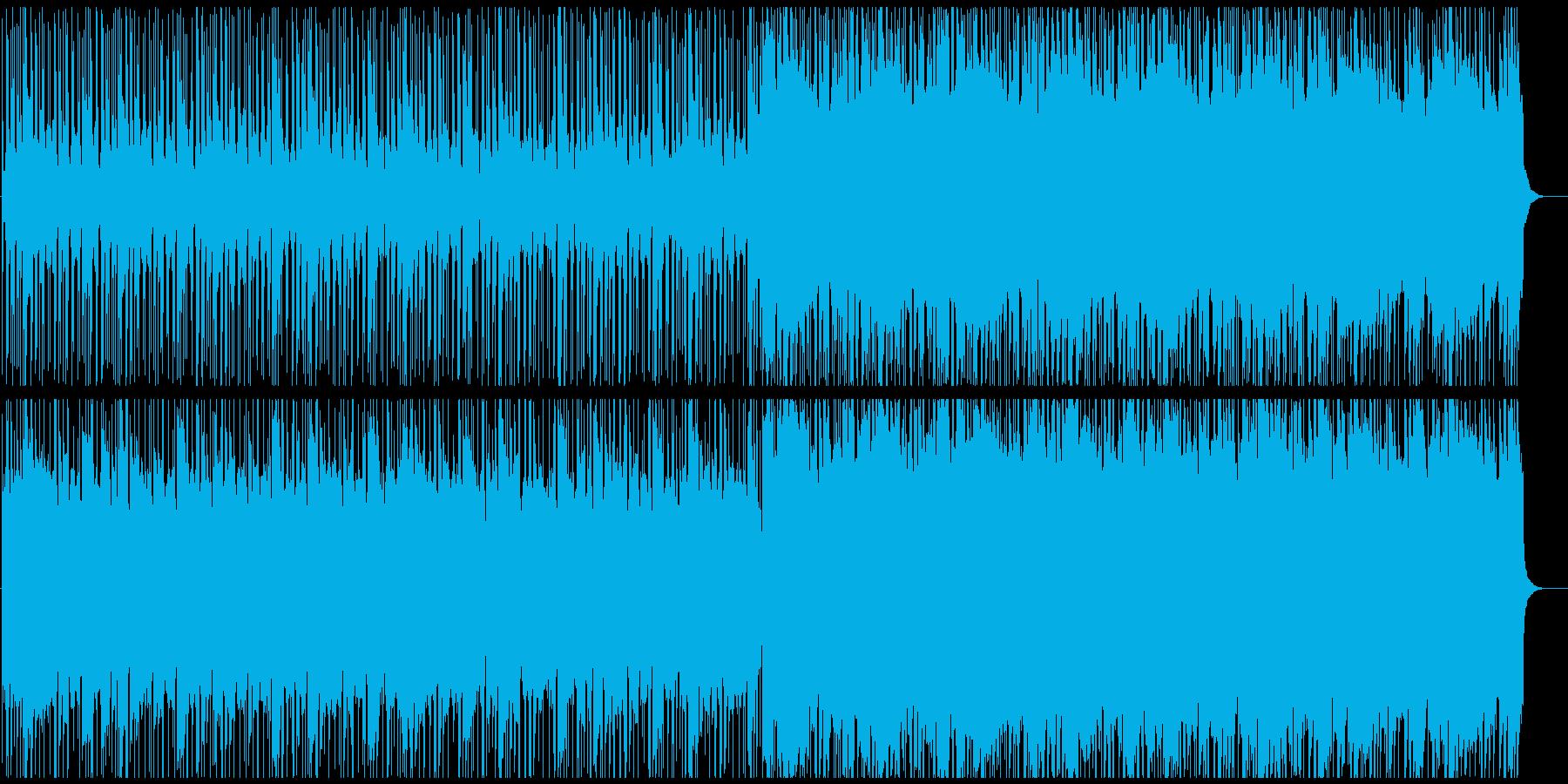 木琴メロディーのしっとりしたビート曲の再生済みの波形