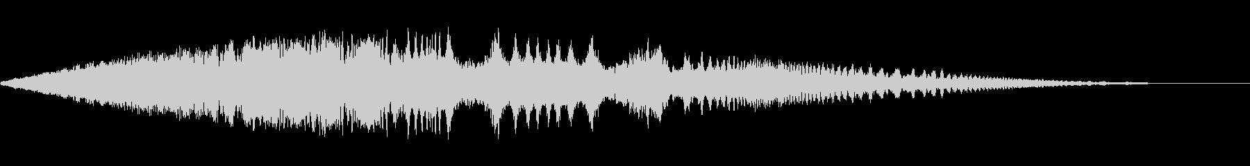 ワープ時のサウンド(ループ用)の未再生の波形