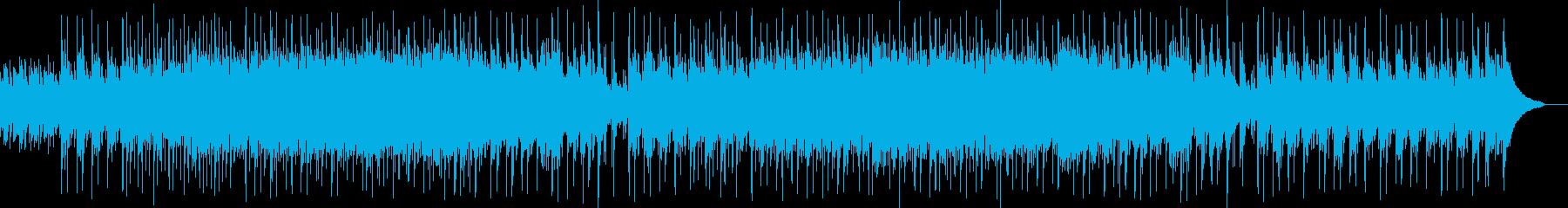 ポジティブイメージなピアノバンドサウンドの再生済みの波形
