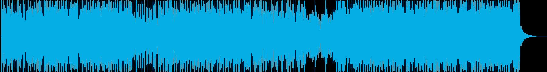 Future Bass的なBGMの再生済みの波形
