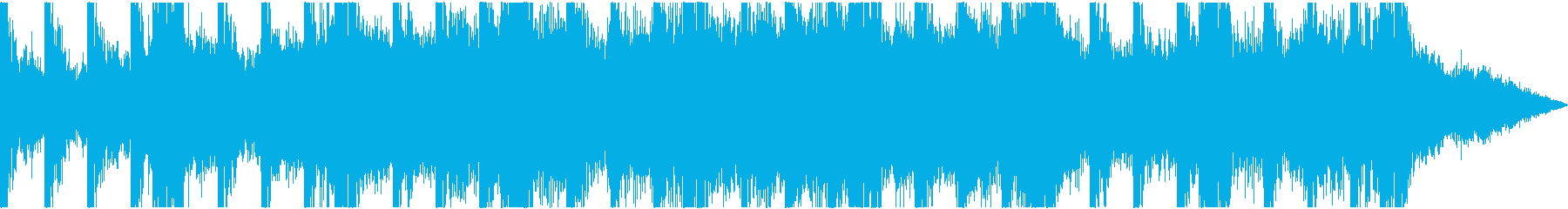 幻想的でロマンを感じるオープニングBGMの再生済みの波形