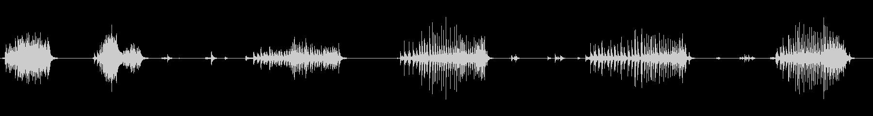 ワークベンチ、メタルチェーン、フッ...の未再生の波形