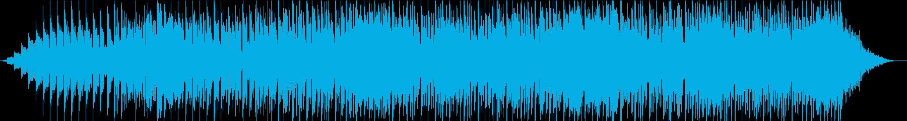 運転感覚のあるパルスEDMダンスポ...の再生済みの波形
