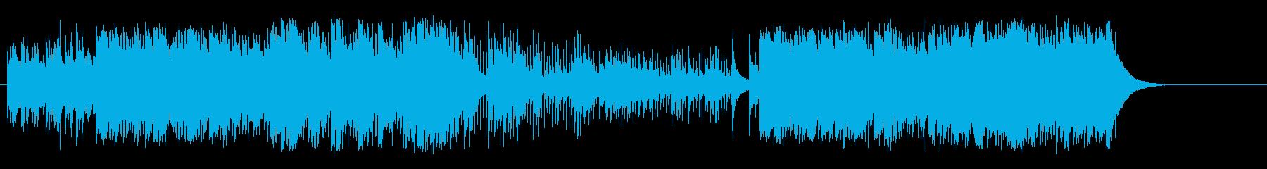 爽やかなBG/アコースティックの再生済みの波形