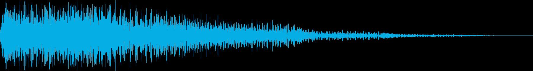 ジャラン(スタート 選択 登場)の再生済みの波形