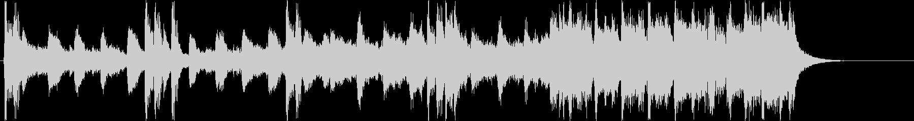 チャイナ風シンセサイザー短めサウンドの未再生の波形
