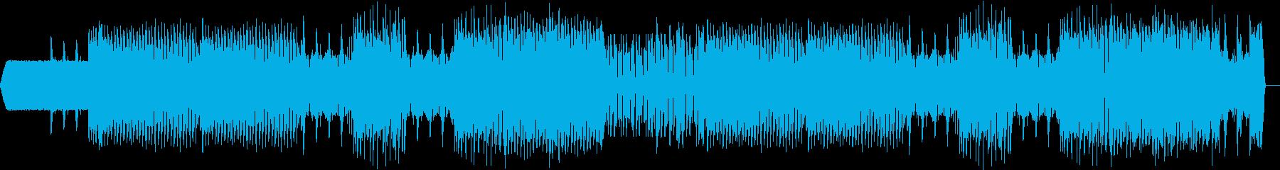 EDMっぽい明るい曲ですの再生済みの波形