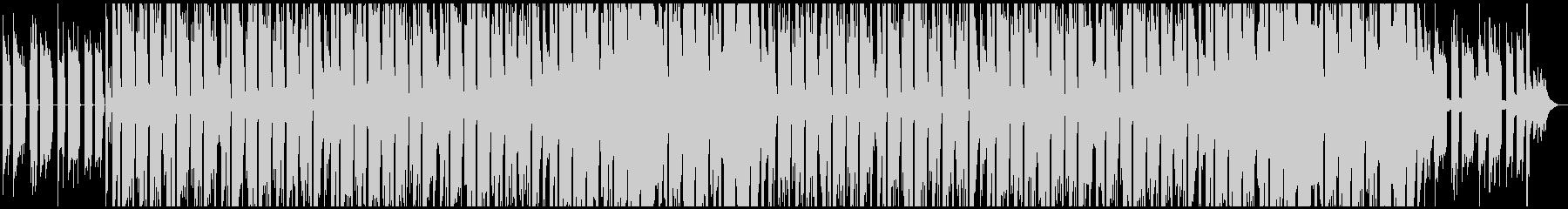 ギターアルペジオが印象的なヒップホップの未再生の波形