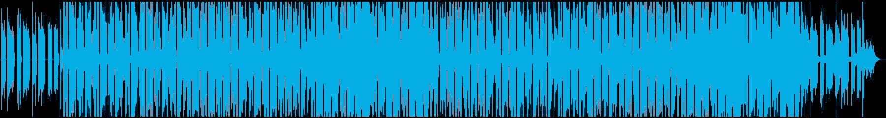 ギターアルペジオが印象的なヒップホップの再生済みの波形