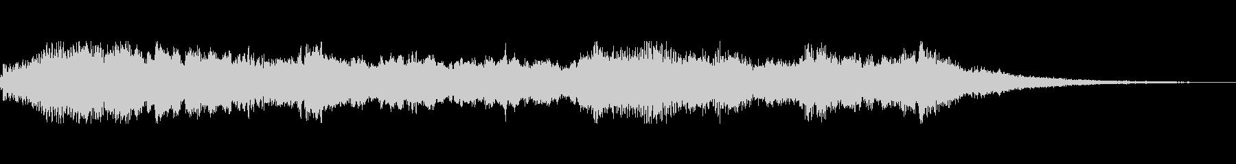 Eのキーの未再生の波形