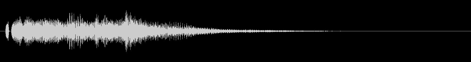 オープニング用ジングル120/ショートの未再生の波形