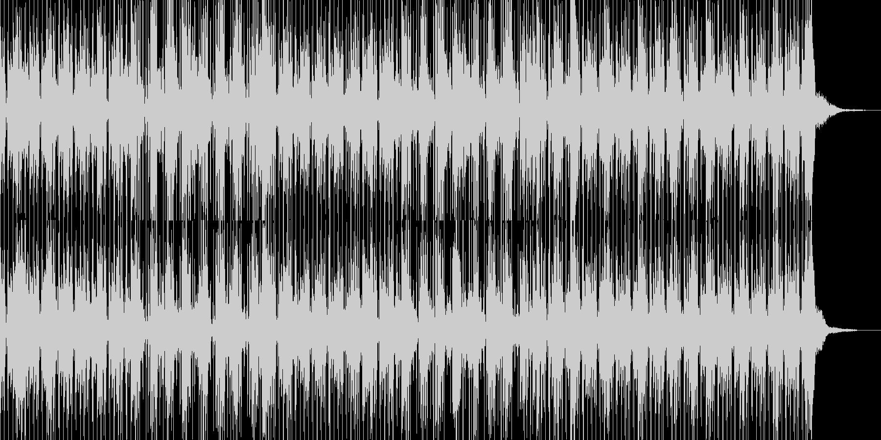 このテックグルーブのファンキーなク...の未再生の波形