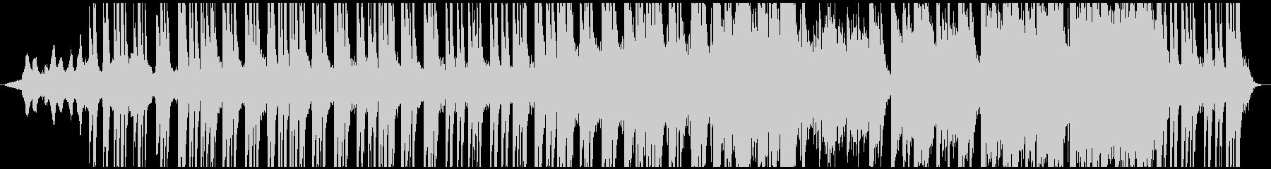 ピアノ、生アコギ、リズムレス、超切ないの未再生の波形