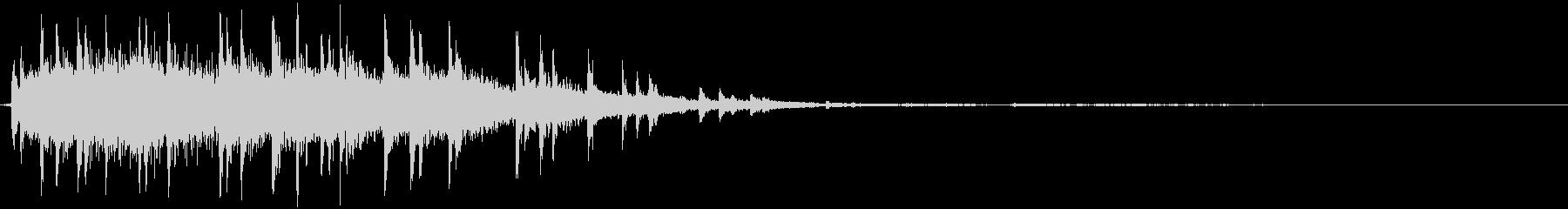 【ホラー】SFX_37 カカンッカカンッの未再生の波形