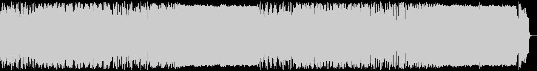 ダークファンタジー風デジタルオーケストラの未再生の波形