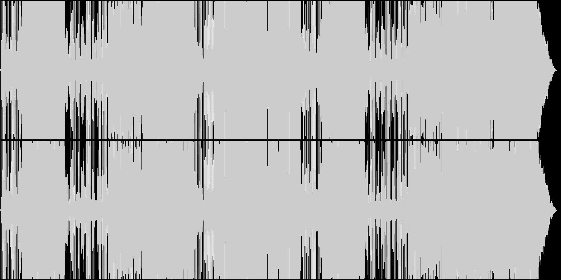 和楽器で奏でる切ないダンス・チューンの未再生の波形