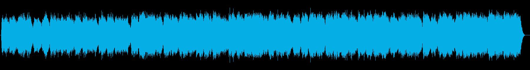 幻想的なピアノシンセの再生済みの波形