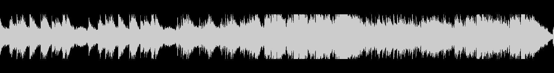 穏やかなケルト曲(ループ)の未再生の波形