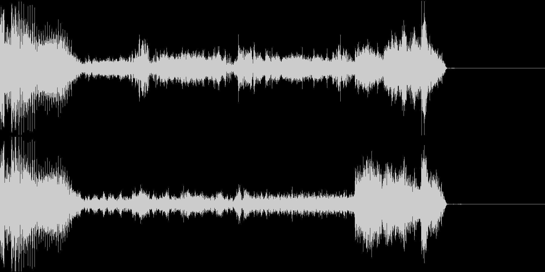 FMラジオ的ジングル8の未再生の波形