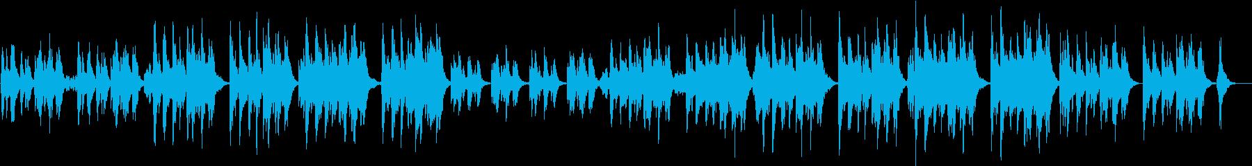 オーケストラ楽器による楽しく軽快なCM曲の再生済みの波形