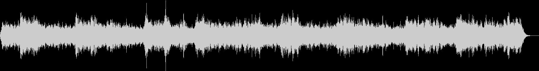 魅惑的な音色のアンビエントサウンドの未再生の波形