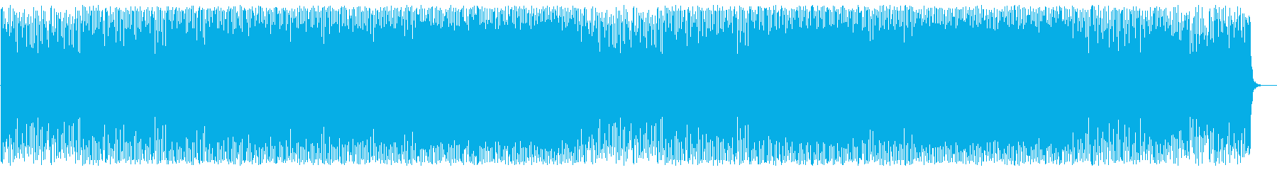 4つ打ちの気持ちの良いボサノバハウスの再生済みの波形