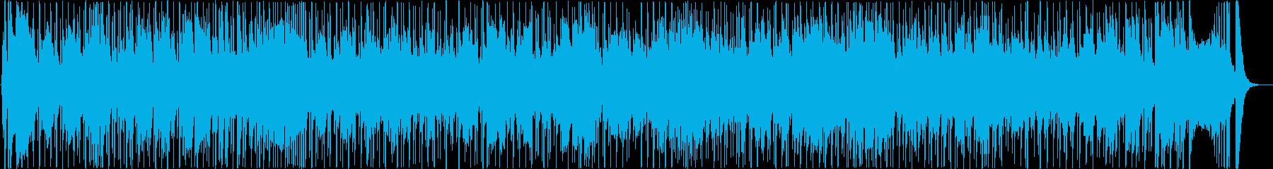ブルースクラシック、背景、ハーモニ...の再生済みの波形