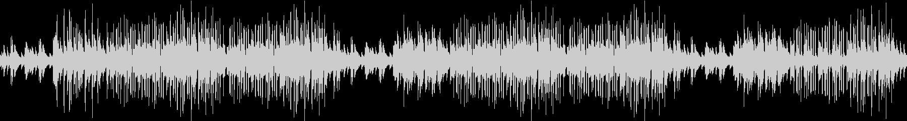 ピアノ・お洒落・カフェ・レトロ・ループの未再生の波形