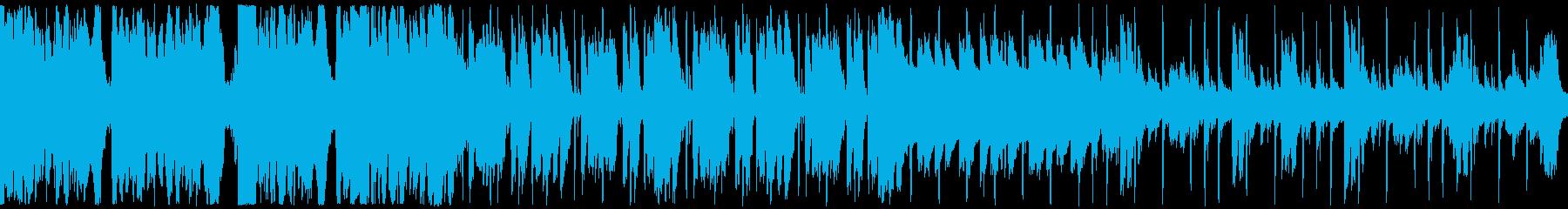 劇伴2、シネマチックHipHop、緊迫Bの再生済みの波形