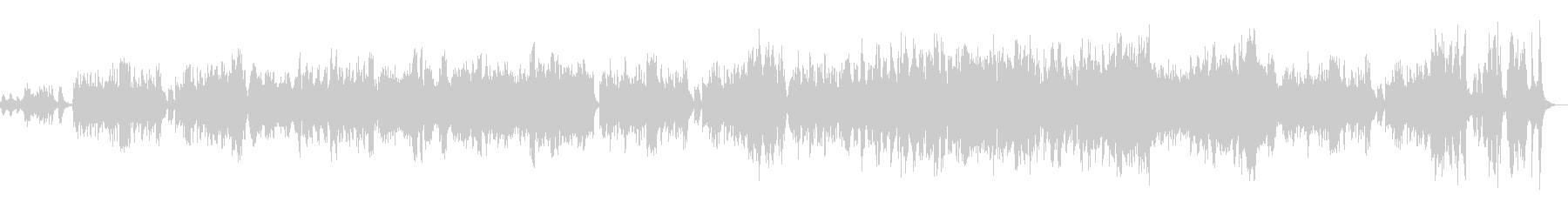 メルヘンチックのワルツの未再生の波形