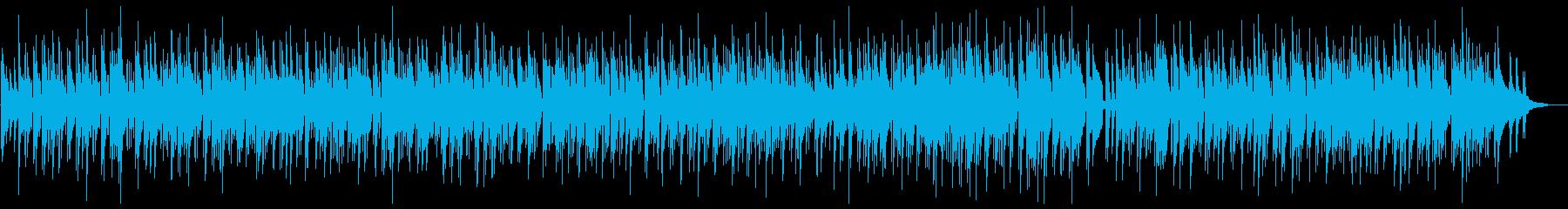 優しいピアノのメロディが心地よいボサノバの再生済みの波形