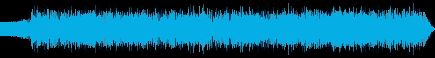 淡々としたエレクトロニカの再生済みの波形