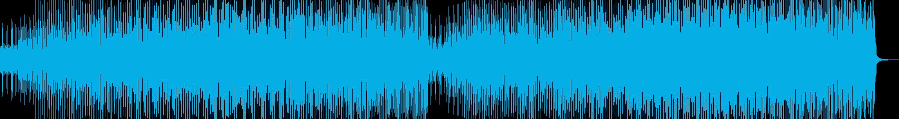 踊るメロディ・お祭り騒ぎなジャズ Aの再生済みの波形